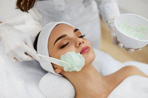 Набор на 1 процедуру: Активный фито-гель (30 мл) + Кроеная маска-активатор для лица и шеи в индивидуальной упаковке (1 штука).