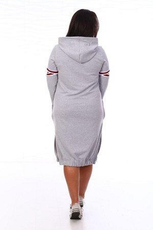 Платье-толстовка