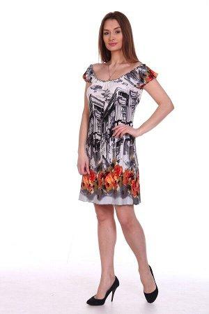 Платье летнее Город (М-171в)