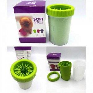 Стакан для мытья лап soft gentle silicone bristles оптом