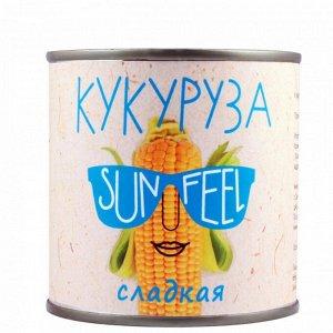 "Кукуруза сладкая ""SUNFEEL"" 425гр 1/12 Россия"