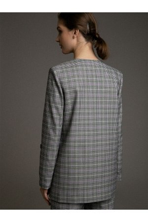 #97670 Жакет (Emka Fashion) Серый