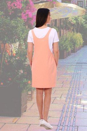 Сарафан Бренд: Натали Ткань: футер 2-х нитка Популярная модель сарафана в стиле casual (стиль и практичность), выполнена из трикотажного полотна. Силуэт данной модели свободный О-образный. Длина сараф