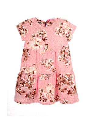 Платье 968А3 розовый