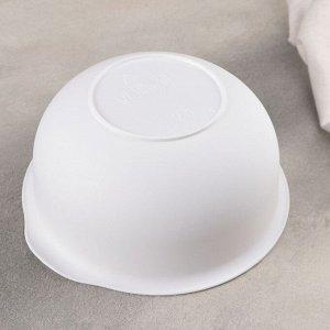 Набор чаш «Классик», цвет белый