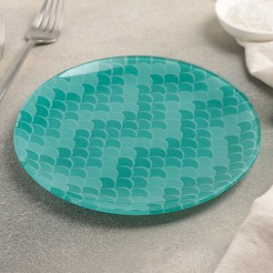 Тарелка пирожковая Доляна «Сирена», d=18 см