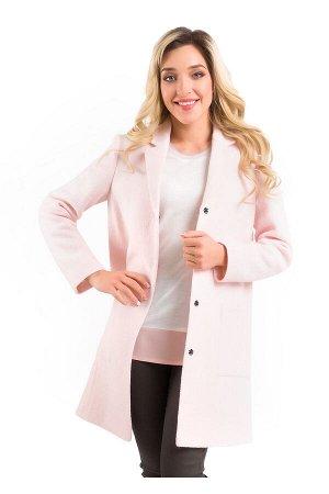 #97415 Пальто св.розовый