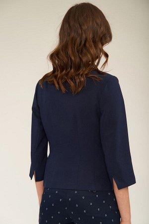 #96663 Жакет (ANTIGA) синий