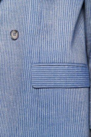 #95407 Жакет (ANTIGA) джинсовый синий