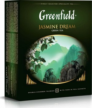Чай Гринфилд Jasmine Dream green tea 2г 1/100/9, шт