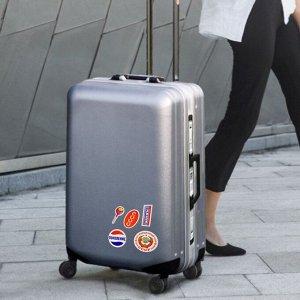 Наклейки на чемодан «Всегда готов»