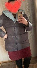 Куртка женская демисезонная 22260  (серо-голубой)