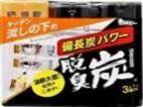 """Поглотитель запахов """"DASHU - TAN"""" для шкафов на кухне (угольный), 3 шт*55 г / 24"""
