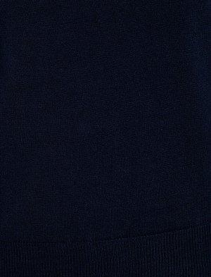 джемпер темно-синий