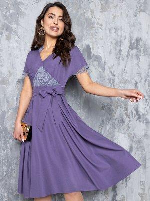 Платье Точёная фигурка (нежная сирень)