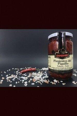 Перцы красные, сладкие, печеные «пикильо экстра» «coquet» 27