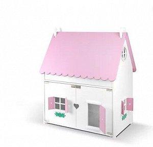 """Кукольный домик """"Барби хаус"""" со съемной крышей"""