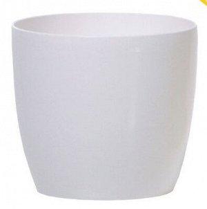 Кашпо для цветов Coubi Round DUO090-S449 Белый 0,5 л