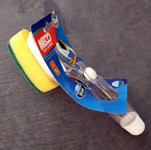 Щетка Щетка для мытья посуды с дозатором