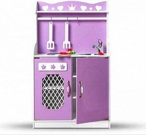 Кухня БЕЗ наполнения, только кухня! Характеристики: Материал: МДФ 10, покрытие - эмаль. Размер: длина: 60 см, ширина: 30 см, высота: 100 см. Вес: 17 кг. Самая лучшая игра для любой девочки – это «дочк