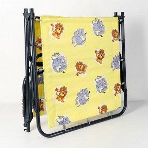 Кровать раскладная детская, 145?65?26 см, до 60 кг, рисунок МИКС
