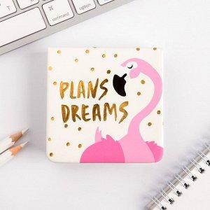 "Футляр для бумаг ""Plans. Dreams"", 100 л., иск.кожа"