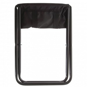 Стул походный складной ПС, 35 х 30 х 37 см, чёрный