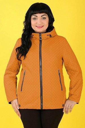 Оранжевый Примечание: замеры длин соответствуют размеру 52. Длина куртки: 68 см. Длина рукава: 62 см. Подкладка: есть. Застежка: молния. Карманы: есть, два функциональных на молнии. Декор: металлическ