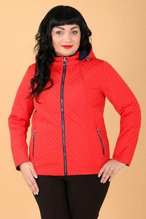 Куртка женская красная короткаякрасный