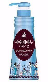 Жидкое мыло для тела «Mukunghwa» (Ароматерапия - Свежесть океана)  900 мл / 8