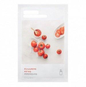 Маска на основе увлажняющей эссенции с натуральным томатным соком