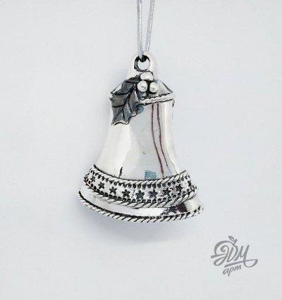 ЭДМ-АРТ-4. Серебро с душой. — Серебрянные подвески елочные. — Цепочки и подвески