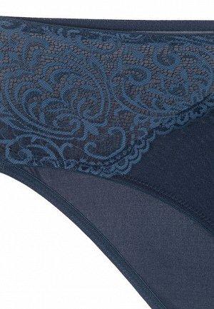 Трусы-слипы с завышенной талией Alexis, цвет «Синий Монако»