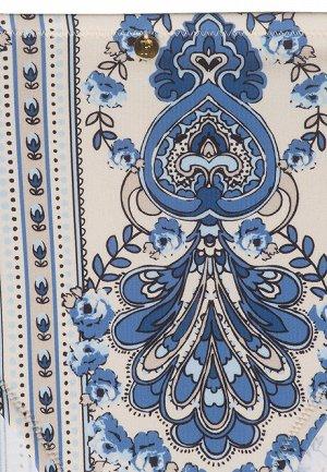 Трусы-слипы с завышенной талией для купания Terra, цвет бело-синий