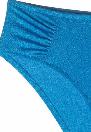 Трусы-слипы с завышенной талией для купания Catrice, цвет лазурь