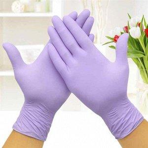 ПАКЛАН Перчатки нитриловые (S) 10 шт