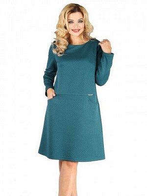 Платье 531 изумрудный