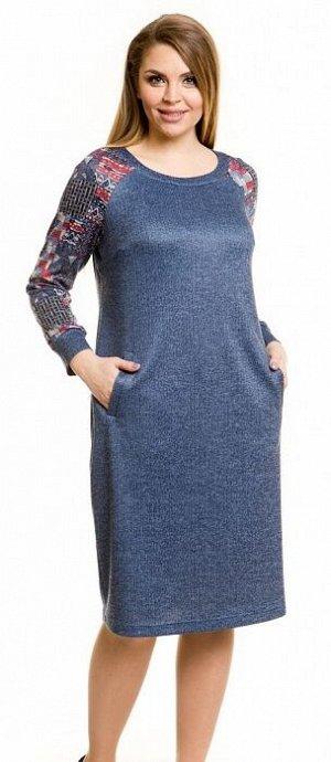 Платье 802 джинсовый