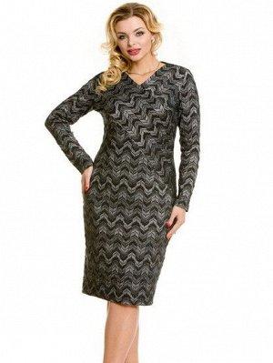 Платье 703 темно-серый