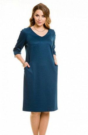 Платье 515 морская волна