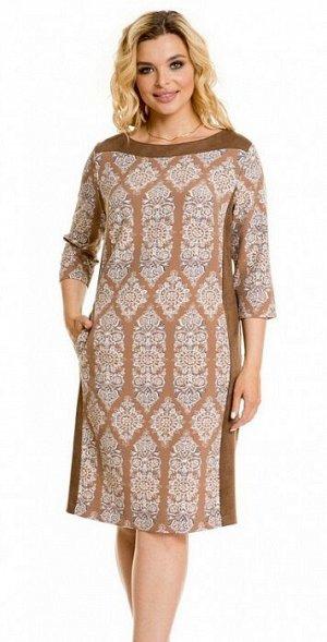 Платье 850 песочный