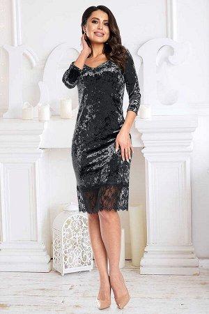 Платье Реномэ (блэк)