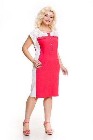 Платье 601 коралловый