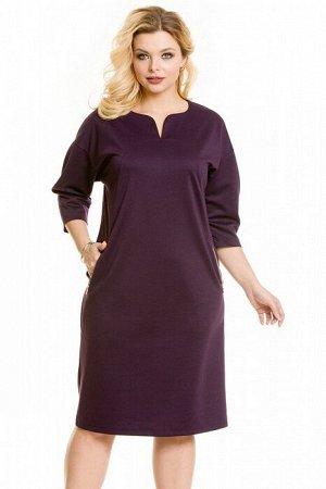 Платье 948 фиолетовый