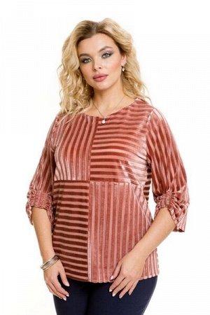 Блузка 963 персиковый