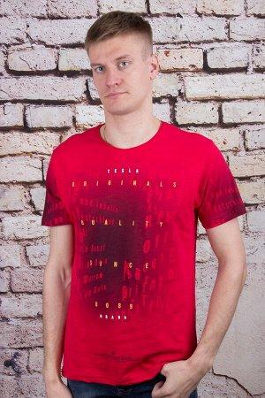 Футболка 8772 красный MAX WAY