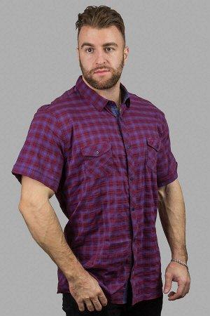 Рубашка 42465 бордовый ANG
