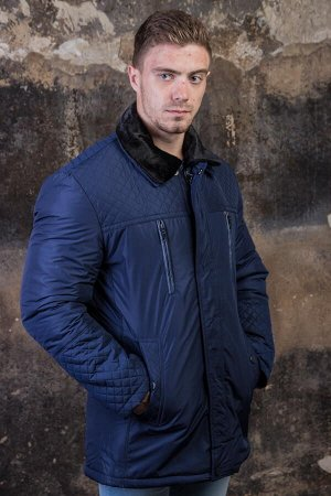 Куртка 16821 синий PAOLO МАХ