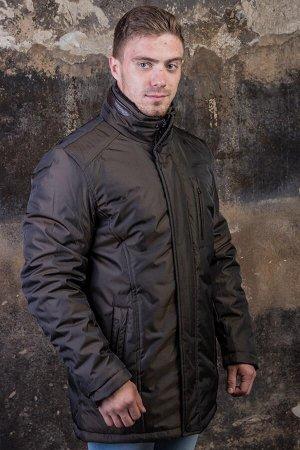 Куртка 16627 коричневый PAOLO МАХ