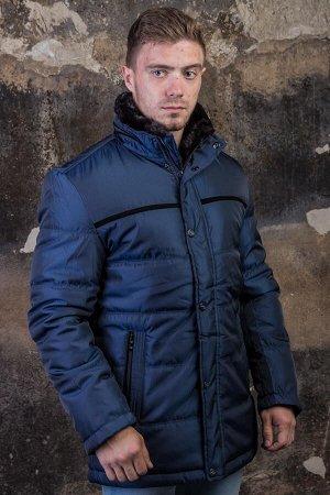 Куртка 15816 синий PAOLO МАХ